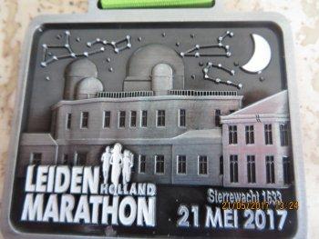 De halve marathon van Leiden een graadmeter voor André Blok