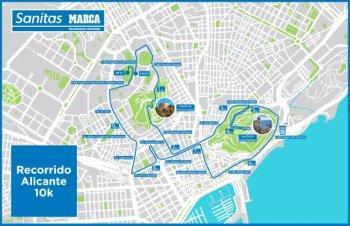 André blok komt op 6 oktober aan de start in Alicante tijdens de 10 KM.