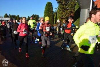 André start in halve marathon Zoetermeer met Spaans post adres.