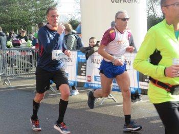 Blok loopt goede halve marathon van Zoetermeer.