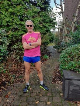 André Blok loopt testloop